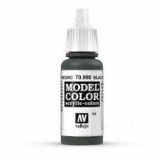 100 Black Green 17ml. MC Akrilna boja