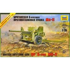 British Anti-Tank Gun QF 6-PDR Mk.II 1/35