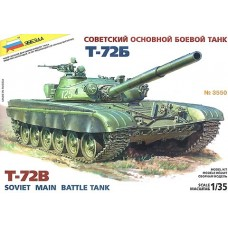 Russian Main Battle Tank T-72 B 1/35