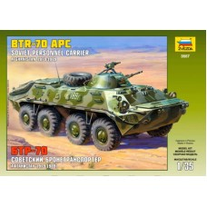 Russian Personal Carrier (Afghan War) BTR-70 1/35