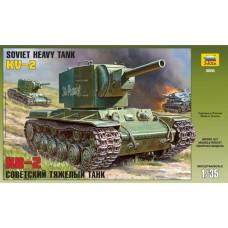 Soviet Heavy Tank KV-2 1/35