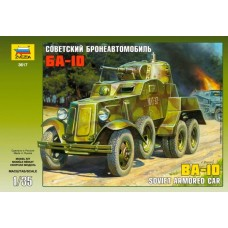 Soviet Armored Car BA-10 1/35