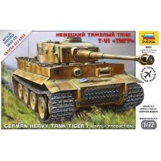 German Heavy Tank Tiger I Early Production   1/72