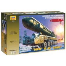 International Ballistic Missile Launcher Topol SS-25 Sickler 1/72