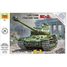 Soviet heavy tank IS-2 1/72