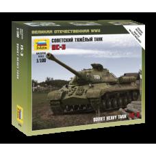 1/100 Soviet tank IS-3