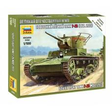 1/100 Soviet light tank T-26 mod. 1933