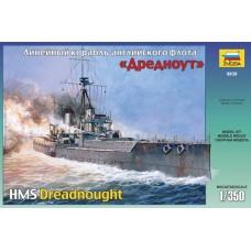British Battleship HMS Dreadnought 1/350
