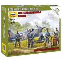 1/72 Soviet airforce ground crew