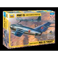 """1/72 Soviet fighter MiG-15 """"Fagot"""""""