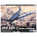 """USN SBD-2 """"MIDWAY"""" 1/48"""