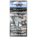"""F-14A VF-1 """"WOLF PACK"""" 1/72"""