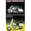 CLASSIC POLICE MOTORCYCLE 1/10