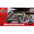 WILLYS JEEP TRAILER 1/72