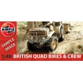 BRITISH QUAD BIKES AND CREW 1/48