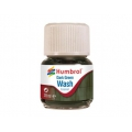 Enamel wash 28ml. dark green