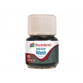 Enamel wash 28ml. dark grey