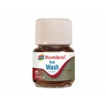 Enamel wash 28ml. rust