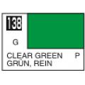 Transparent-Zelena Mr. Color 10ml. boja