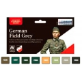 German Field Grey uniform Akrilne boje set